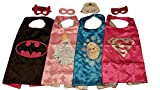 Cape with Mask (Girl Super Princess - Set of 4)