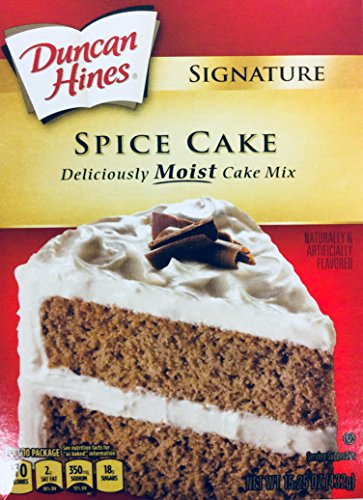 Spice Cake Mix - Duncan Hines Signature Spice Cake Mix 15.25 oz (pack of 2)