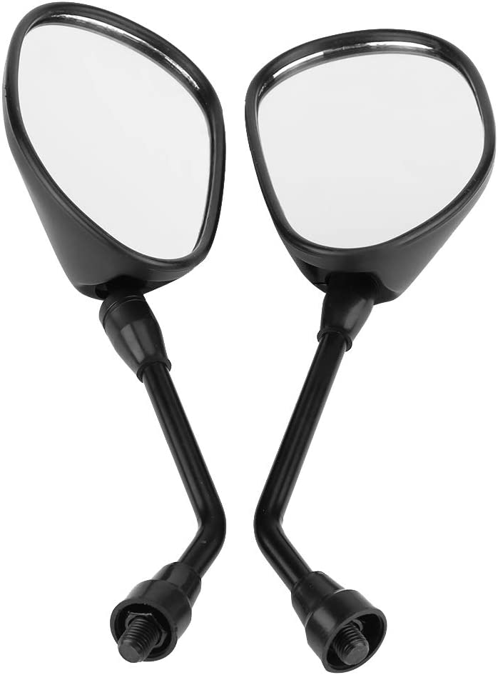 KIMISS Universal Motorcycle Motorbike Scooter 8mm Rearview Mirror DY100 Rear View Side Mirrors
