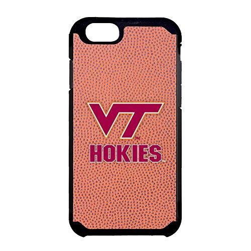 (Virginia Tech Hokies Classic Football Pebble Grain Feel iPhone 6 Case,One Size,Brown)