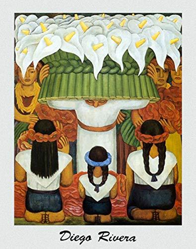 ImpactInt Flower Festival Feast of Santa Anita 1931 Diego Rivera Print Poster (22x28 Inch)