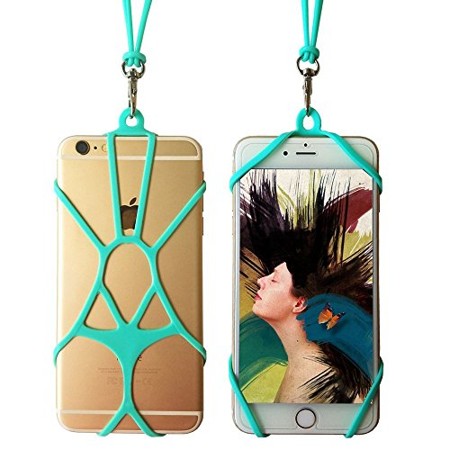 Cheap Accessories Cell Phone Lanyard Silicone TOOVREN iPhone Neck Strap Smart Phone Case Necklace..