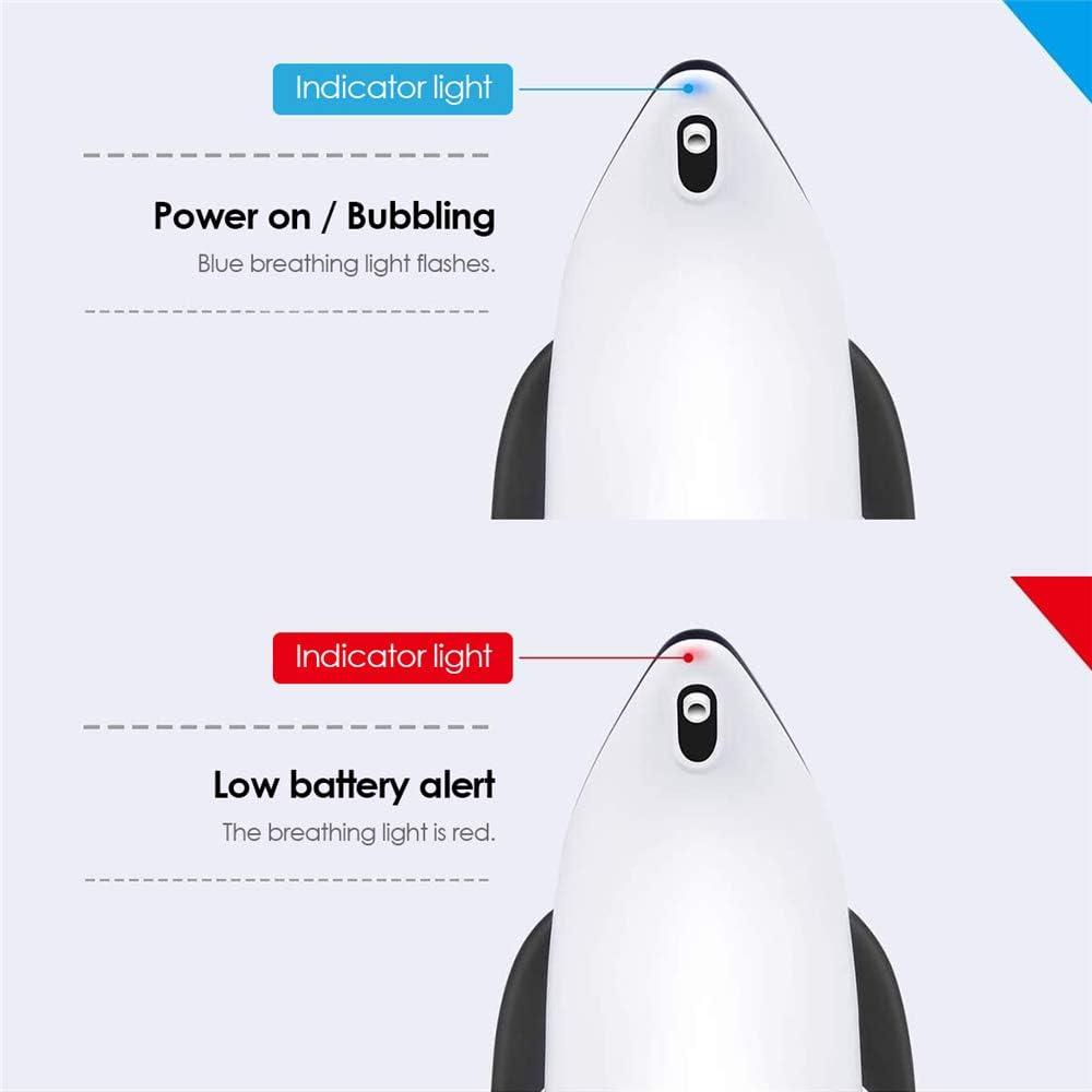 Blu S SMAUTOP Dispenser di Sapone Automatico 300ml Distributore di Sapone Schiumogeno Erogatore di Sapone Touchless con Sensore di Infrarossi per Bagno Cucina Bagno Ufficio