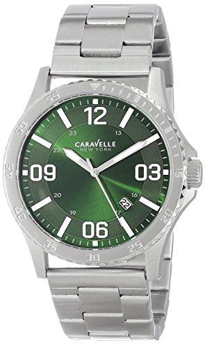 Caravelle Mens Bracelet - Caravelle NY Men's 43B129  Stainless Steel Bracelet Watch