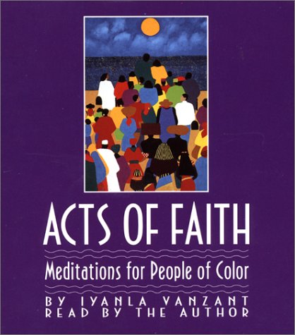 Acts of Faith: Meditations for People of Color by Simon & Schuster Audio
