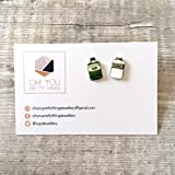 Gin and tonic - Stud earrings for women - Quirky earrings - Gin jewellery - Gin gifts for women - Gift for her - Gin lover gift