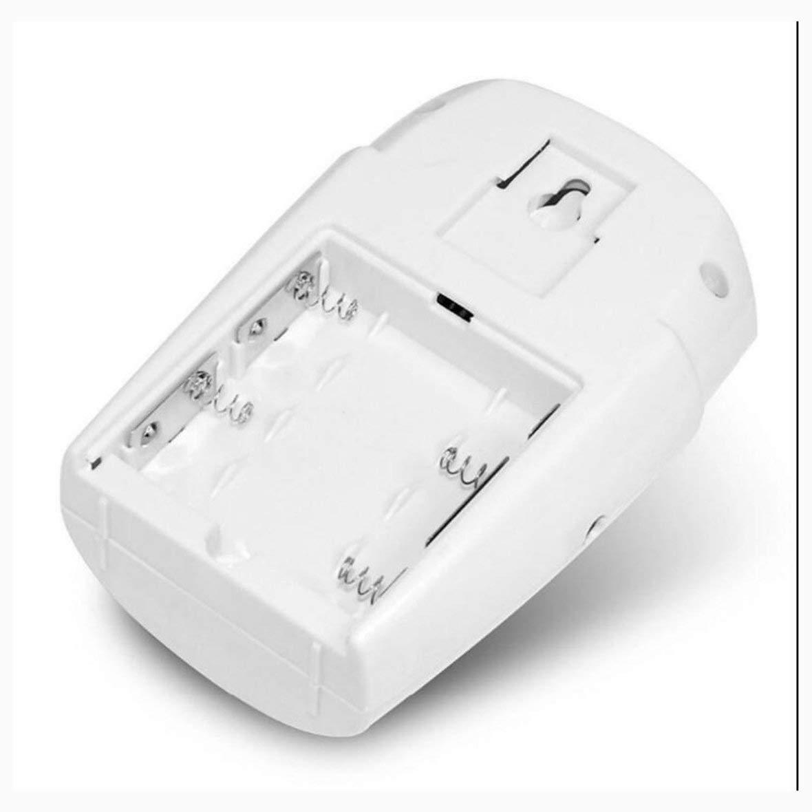 Heaviesk PIR Sensor de Movimiento Alarma Inalámbrico Garaje doméstico Caravan 2 Controles remotos Seguridad PIR Detectores de Movimiento para caravanas en ...