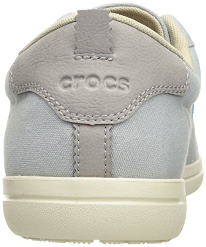 Crocs Mænds Torino Lace-up M Mode Sneaker Lysegrå / Stuk XXE8aZ5ov