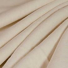 ECO Hemp Organic Cotton Fleece Fabric - Natural (sold by the yard)