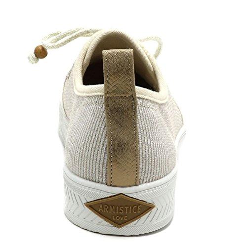 Armistice Mädchen Sneaker Beige