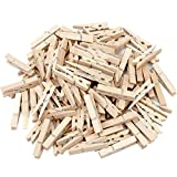 Labara Sturdy Natural Wood Clothespins 1 3/4'-48/pkg