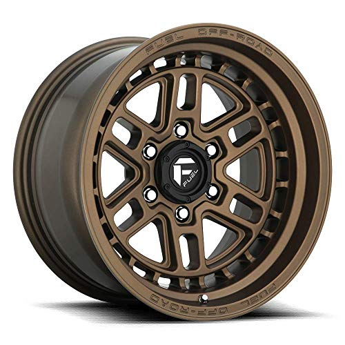 17x9 Fuel Offroad Wheels Nitro D669 5x127-12 Offset 71.5 Centerbore - Matte Bronze | P# D66917907545 | WHEELS ONLY | NEW | AUTHORIZED DEALER