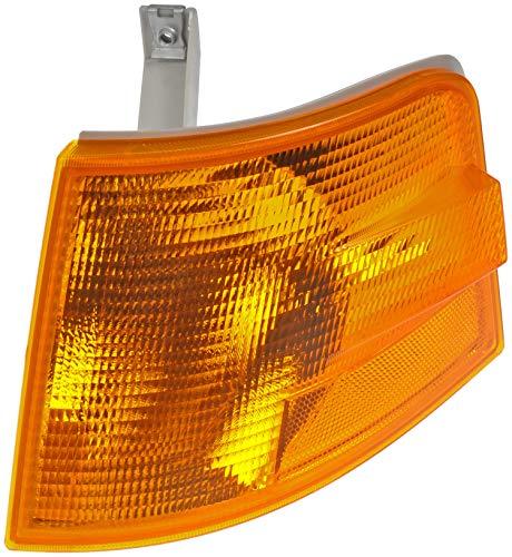 - Dorman 888-5518 Front Driver Side Turn Signal / Parking / Side Marker Light Lens for Select Volvo Trucks