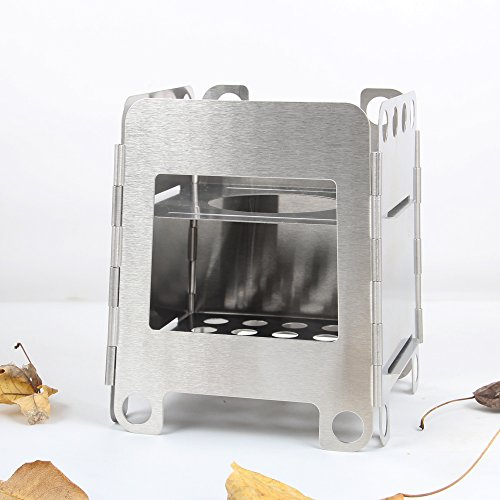 Rover Camle Outdoor Camping Wood Stove Alcohol Stove Backpacking Pellet Stove