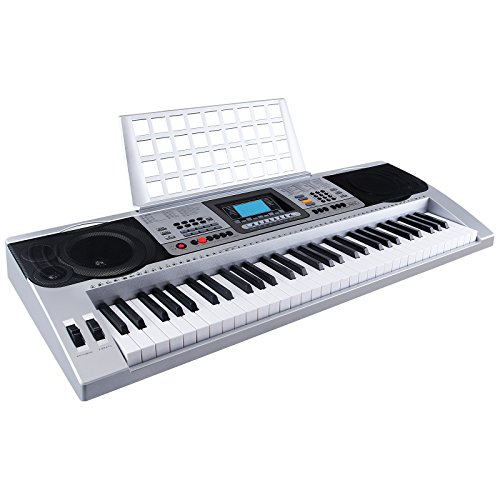LAGRIMA 61 Key Music Digital Electronic Keyboard Electric Piano Organ Touch Sensitive by LAGRIMA