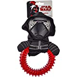 Best Star Wars Chew Toys For Dogs - Star Wars TPR Ring Plush Dog Toy, Small Review