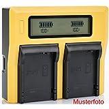 Bundlestar LCD double chargeur pour batterie CANON LP-E6 LP-E6N pour Canon XC10 XC15 EOS 60D 70D 80D 5D Mark I II III IV 6D Mark I II 7D Mark I II