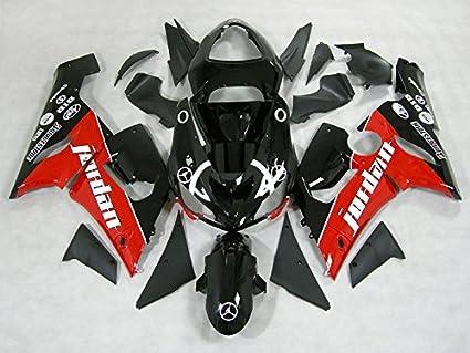 Moto Kit de carrocería de plástico ABS OnFire embellecedores para Kawasaki Ninja ZX6R ZX-6R