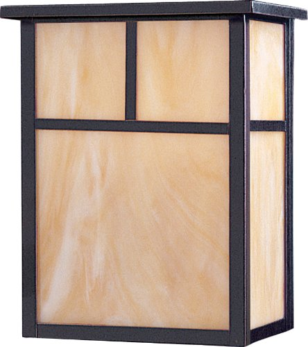 Maxim Lighting 55051 Coldwater LED Outdoor Wall Mount, Burnished Finish, 9 by 11-Inch