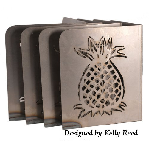 Art of the Garden M Brace Raised Garden Bed Corners, Pineapple, Set of 4