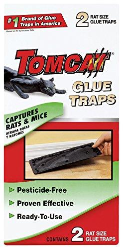 Tomcat Rat Size Glue Traps, 2-Pack (Original Formula)