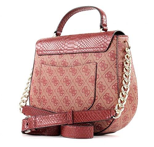 Guess Damen Hwsp6786180 Shopper, Rot (Bordeaux), 10.5 x 18 x 24 cm