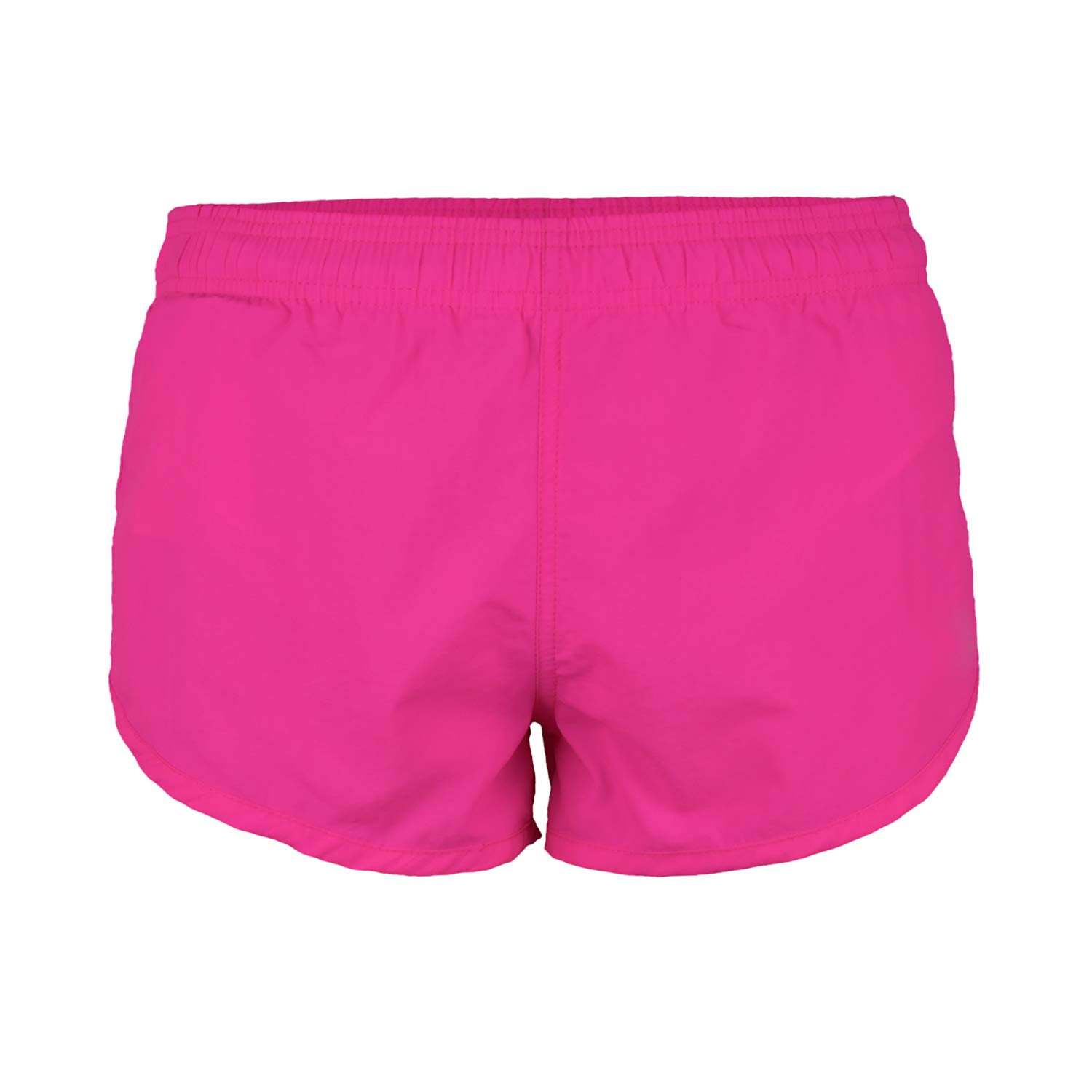 VBRANDED Men's Basic Running Shorts and Swimwear Trunks Neon Pink L by UZZI