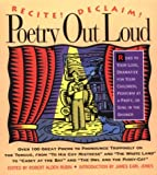 Poetry Out Loud, Robert Alden Rubin, 1565121228