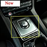 Herben For Jaguar XE X760 XF X260 F-Pace F PACE X761 2016 Car-styling Auto Interior Accessories ABS Chrome Gear Box Panel Cover Trim