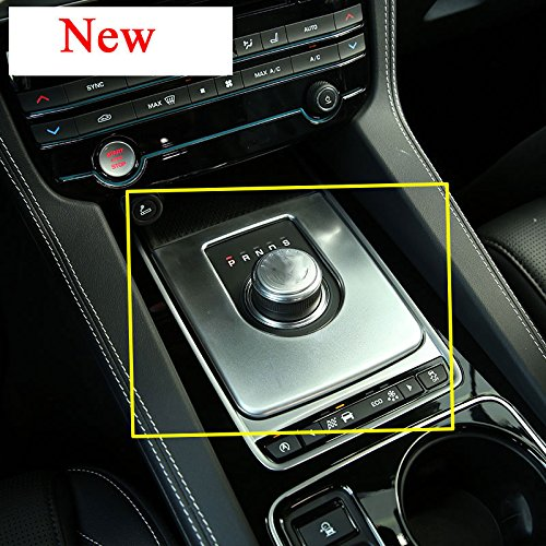 Herben For Jaguar XE X760 XF X260 F-Pace F PACE X761 2016 Car-styling Auto Interior Accessories ABS Chrome Gear Box Panel Cover Trim by Herben