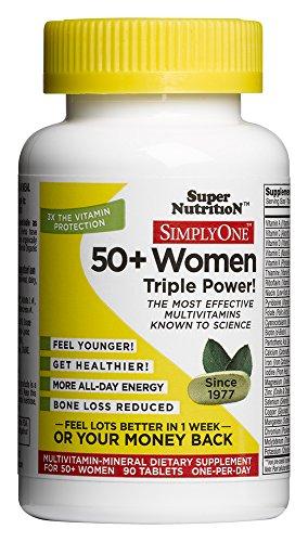 Просто один 50+ Женщины 90 Tab