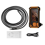 Industrial Endoscope 4.3-inch Color LCD Screen Endoscope Handheld Endoscope Digital IP67 Waterproof Borescope Camera with Monitor(3m)