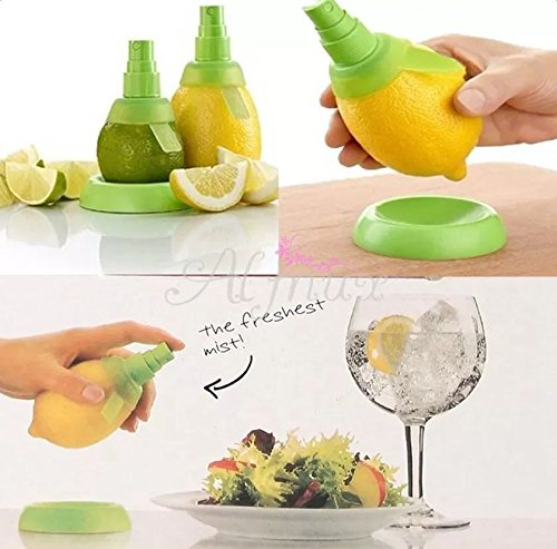 XENO-2 Pcs Creative Lemon Juice Sprayer Orange Fruit Mist Hand Squeezer Kitchen Tools