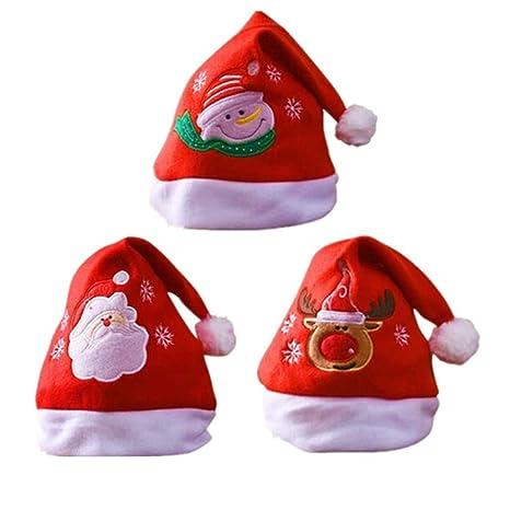 BJ-SHOP Cappello di Natale 557fe982ef3d