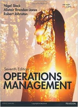Book Slack: Operations Management 7th edition MyOMLab pack