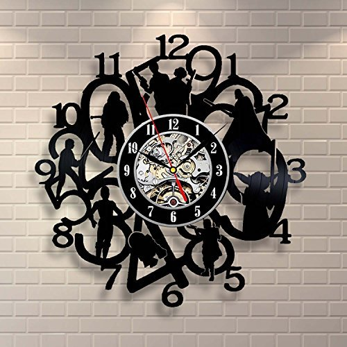 Star Wars Movie Art Vinyl Record Clock Wall Decor Home Design