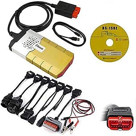 GQF Ds150E Diagnóstico Automotriz OBD Escáner De Diagnóstico con 8 Cables Automotrices De 16 Pines