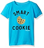 Life is Good Toddler Elemental Smart Cookie Tee, Bright Blue, 2T