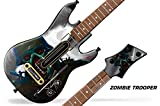 Decal Sticker for Guitar Hero Live Guitar Controller - Zombie