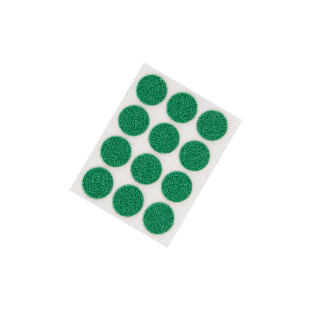 Waxman Consumer 31510015 3/4'' SELF-STICK FELT PADS, ROUND, GREEN