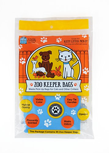 Zoo Mitt - Doggie Walk Bags Zoo Keeper All Animal Clean Up Bags