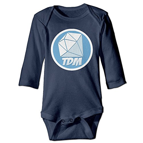 youtube-dantdm-logo-infant-bodysuit-romper-jumpsuit-outfits-18-months