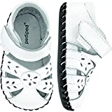 Baby : pediped Originals Daphne Sandal (Infant),White,Small (6-12 Months E US Infant)