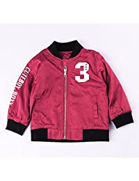 EsTong Toddlers Boys Fleece Lined Jacket Warm Thick Outoor Coat Zipper Outwear