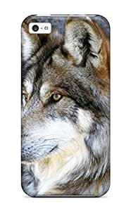 New Fashion Case Durable Protector case cover With Wolves Hnnqzi2lIyD Animal Hot Design For iphone 5s