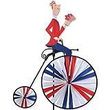 High Wheel Bike Spinner - Man by Premier Kites