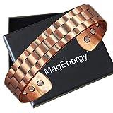 Mens Copper Bracelet 99.9% Pure Copper Magnetic