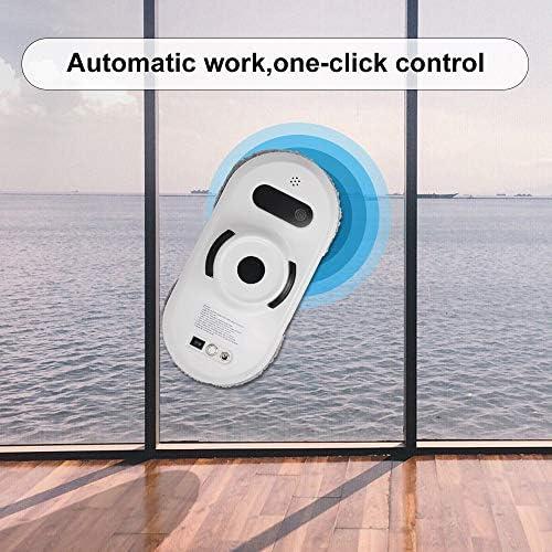 Robot électrique pour le nettoyage des vitres Aspirateur de verre automatique Robot de nettoyage de vitre Télécommande Télécommande Forte Adsorption par le vide - Home Robots