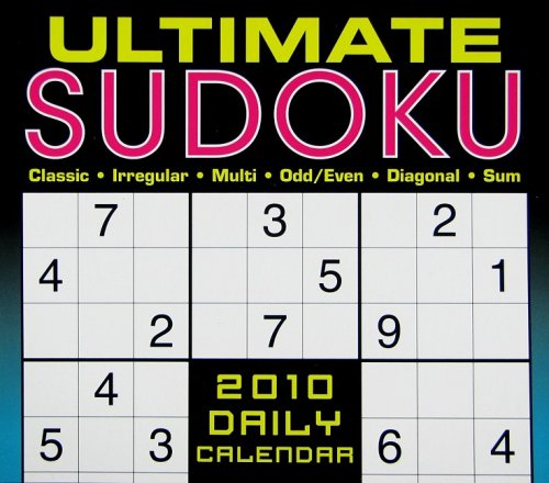 Ultimate Sudoku 2010 Daily Boxed Calendar (Calendar) by Conceptis Puzzles