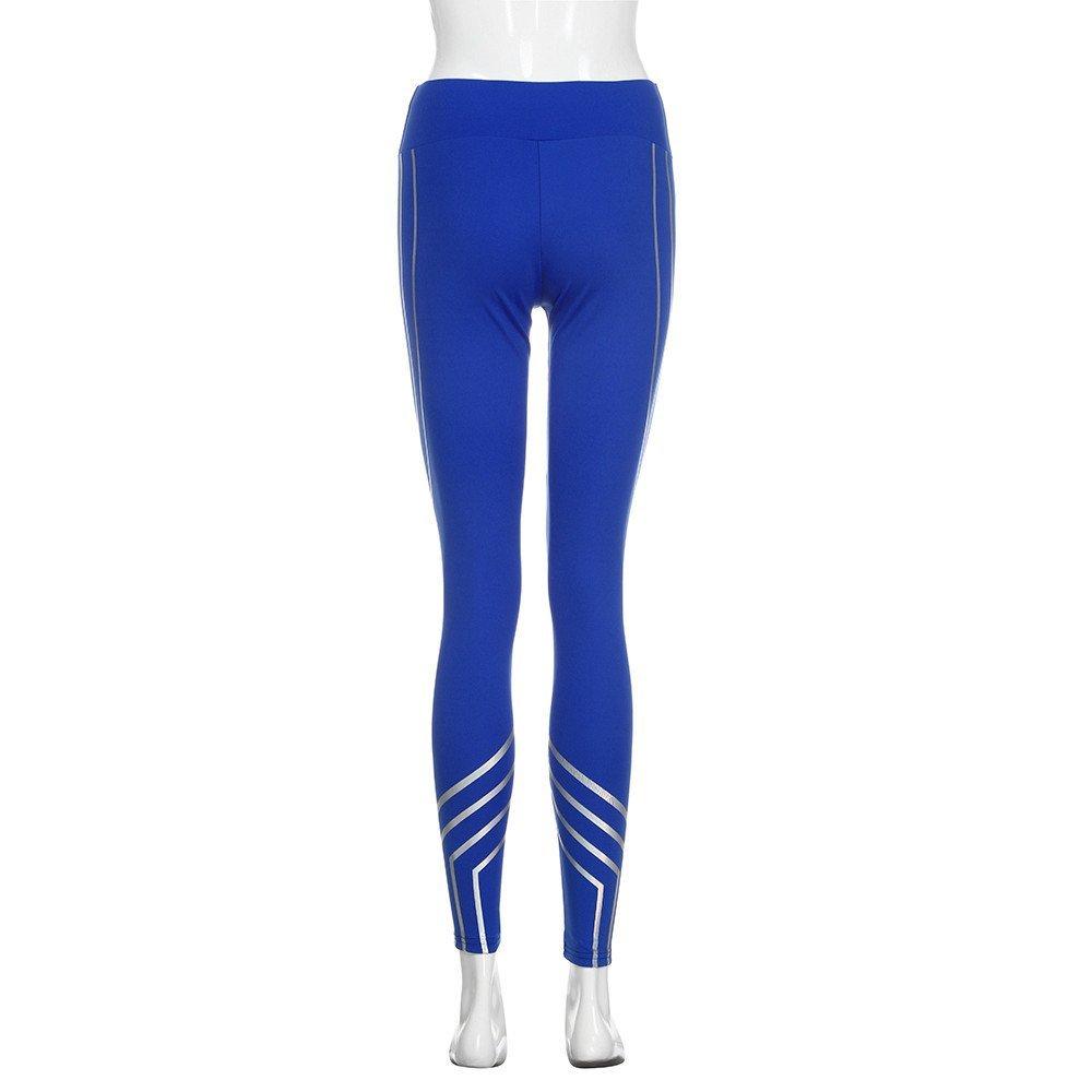 Yusealia Mujeres Ropa Yoga Mujer Deportivas Pantalones Trousers Leggings Polainas para Mujer EláSticos Pilates Fitness Atlético Pantalones de Yoga ...
